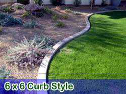 6 x 6 style curbing